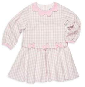 Florence Eiseman Toddler's & Little Girl's Cotton Long Sleeves Popover Dress