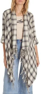 Billabong Women's Live It Up Flannel Wrap