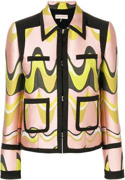 Emilio Pucci jacquard cropped jacket