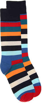 Happy Socks Men's Colorful Stripe Dress Socks