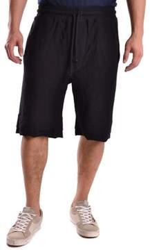 Barbara I Gongini Men's Black Cotton Shorts.