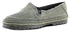 Rocket Dog Wheelie Youth Round Toe Canvas Gray Loafer.