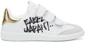 Isabel Marant White Street Tag Beth Sneakers