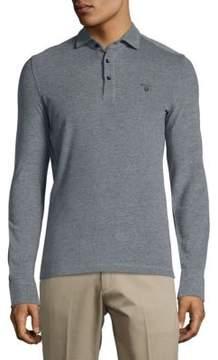 Gant Long Sleeve Cotton Polo