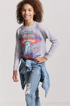 Forever 21 Girls Boston Graphic Top (Kids)