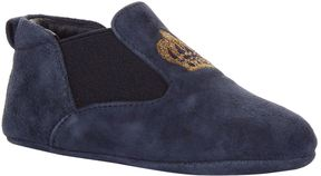 Dolce & Gabbana Suede Crown Chelsea Boots
