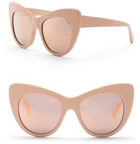 Stella McCartney Women's 53mm Chain Cat Eye Sunglasses