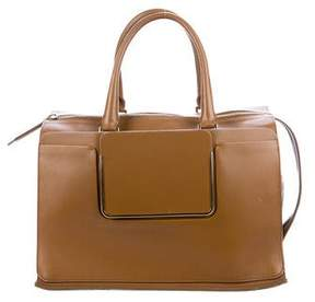 Roger Vivier Smooth Leather Satchel