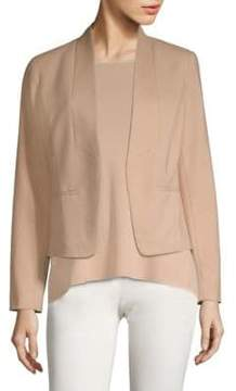Eileen Fisher Draped Open Front Jacket
