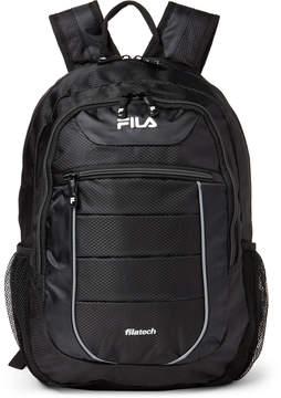 Fila Black Argus II Laptop Backpack