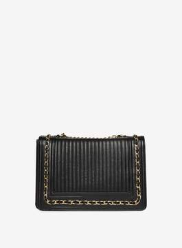 Dorothy Perkins Black Chain Shoulder Cross Body Bag