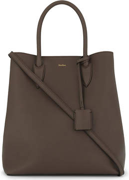 Max Mara Grained leather shoulder bag