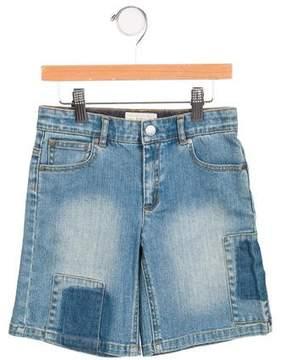 Stella McCartney Boys' Distressed Knee-Length Shorts
