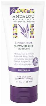 Andalou Naturals Lavender Thyme Refreshing Shower Gel - 8.5 Oz