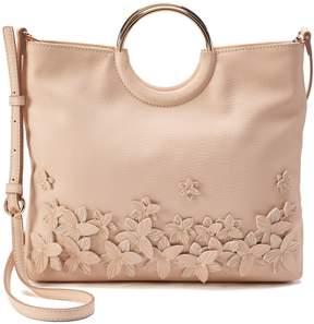 Lauren Conrad Flower Convertible Crossbody Bag