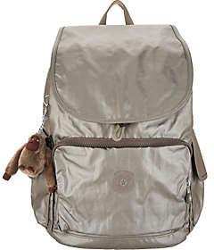 Kipling Nylon Foldover Backpack - Ravier