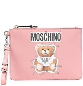 Moschino Toy Bear clutch bag