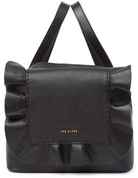 Ted Baker Rammira Leather & Cottoned On Ruffle Convertible Lady Bag