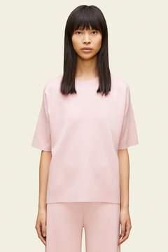 Mansur Gavriel Wool Milano Short Sleeve Sweater