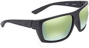 Costa del Mar Hamlin Green Mirror 580P Rectangular Sunglasses HL 01 OGMP