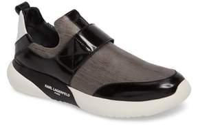 Karl Lagerfeld PARIS Saffiano Textured Sneaker