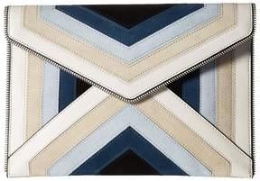 Rebecca Minkoff Leo Clutch Clutch Handbags - BLUE MULTI - STYLE