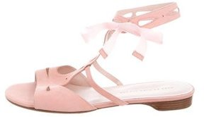 Marc by Marc Jacobs Suede Lace-Up Sandals