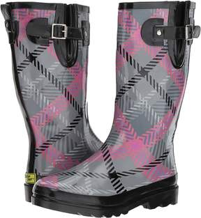 Western Chief Playful Plaid Women's Rain Boots