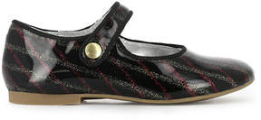 Pom D'Api Daisy Varnished Leather Buckled Ballerinas