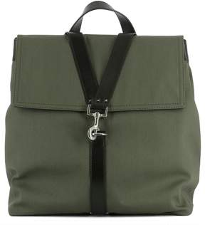 Valentino Green Fabric Backpack