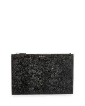 Givenchy Antigona Large Calf Hair Fur Pouch, Black
