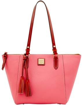 Dooney & Bourke Pebble Grain Maxine Tote - BUBBLE GUM - STYLE
