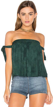 Blue Life Of the Shoulder Top