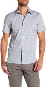 Perry Ellis Short Sleeve Bullseye Shirt