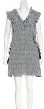 Apiece Apart Striped Silk Dress