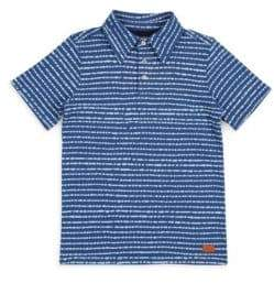 7 For All Mankind Little Boy's Striped Cotton Polo