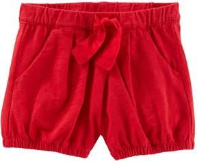 Osh Kosh Oshkosh Bgosh Baby Girl Pleated Bubble Shorts
