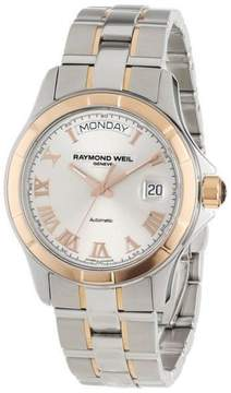 Raymond Weil Parsifal Two Tone Automatic Stainless Steel Mens Watch