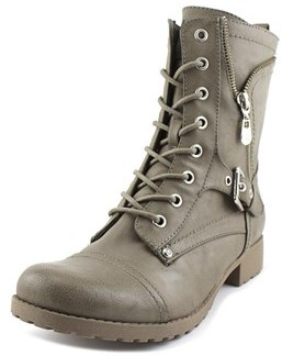 G by Guess Brylee Round Toe Synthetic Ankle Boot.