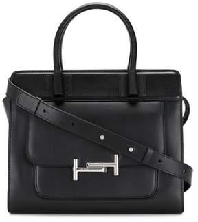 Tod's Women's Black Leather Handbag.
