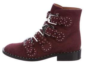 Givenchy Elegant Studded Suede Boots