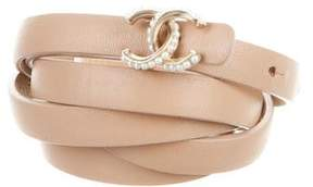 Chanel Embellished CC Belt