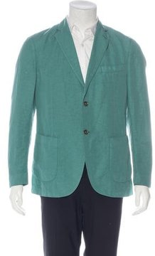 Montedoro Giacco Linen-Blend Sport Coat w/ Tags