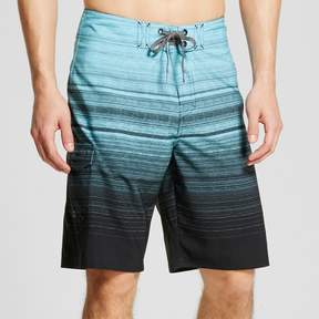 Ocean Current Men's Blue Stripes Board Shorts
