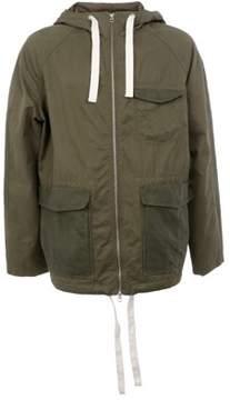 Gant Men's Green Cotton Outerwear Jacket.
