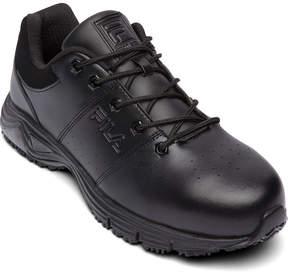 Fila Memory Breach Mens Steel Toe Slip Resistant Work Shoes