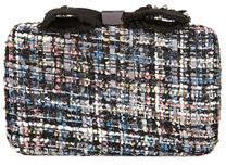 Neiman Marcus Bouclé Box Clutch Bag