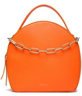 Emilio Pucci Chain-Trimmed Leather Tote