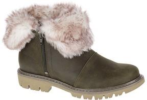 CAT Footwear Dark Loden Flurry Leather Ankle Wrap