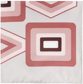 Reiss Deco Silk Pocket Square